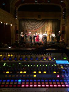 En kväll på teatern i Söderhamn